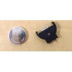 Batterihållare Dreamcast + 3V laddningsbart batteri DC