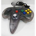 "N64 Hori Commander N64 handkontroll, grå/""rök"""