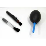 Blåsbälg & pensel för rengöring av elektronik