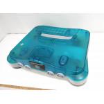 N64 konsol, blå