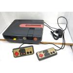 Twin Famicom (grå) - restaurerad, väl fungerande