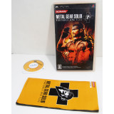 Metal Gear Solid Portable Ops Plus +, PSP