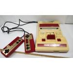Famicom konsol, omoddad original (gulnad)
