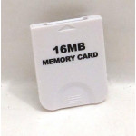 GameCube / Wii minneskort 16MB (svart/vitt), nytt