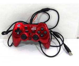 Playstation PS3 Horipad 3 Turbo Plus, röd