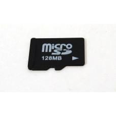 Micro SD kort 128 MB, nytt