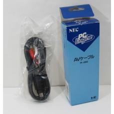 Pc Engine AV Kabel, officiell NEC original (boxad)