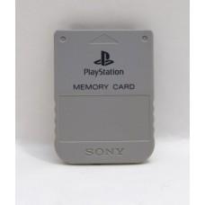 Minneskort PS1 Playstation, grått (original)