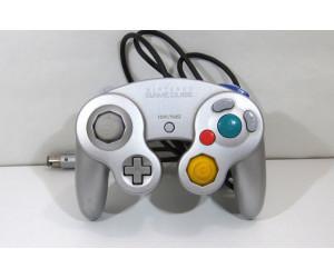 GameCube handkontroll original (bra spakar), silver