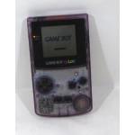 Game Boy Color GBC konsol - lila/transparent