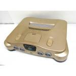 N64 konsol, guld