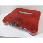 N64 konsol, röd (har jumper pak)