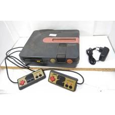 Twin Famicom (grå) - ej restaurerad