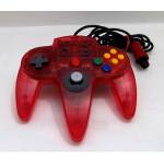 N64 ASCII Handkontroll - Röd