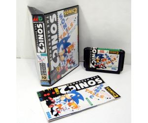 Sonic The Hedgehog 2 (har även reg.kort), MD