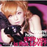 Ayumi Hamasaki - STEP you / Is This Love (musiksingel CD+DVD)