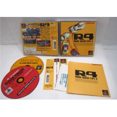 R4: Ridge Racer Type 4 (saknar spine), PS1