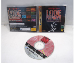 Lode Runner: The Legend Returns, Saturn