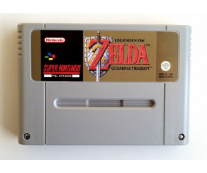 Legend of Zelda: (A Link to the Past) +svensk text