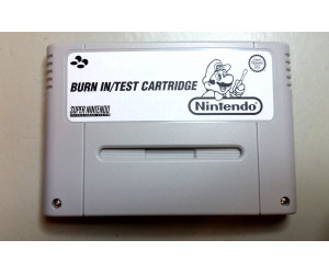 Burn in Test kassett, SFC