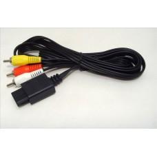 AV/RCA-kabel till N64, SNES, GC - ny