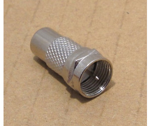 F-typ koaxial till RCA, för japansk RF antennkontakt