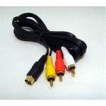Saturn AV/RCA-kabel, ny