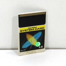 CD-ROM Super System Card Ver.1.0, PCE