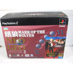 "PS1/PS2 ""Neo Geo Stick 2"" Garou Mark of The Wolves (boxad)"