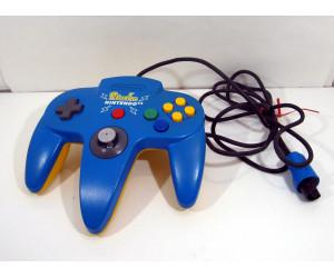 N64 handkontroll blå / gul Pikachu