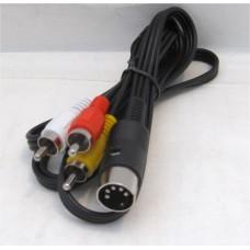 Pc Engine AV/RCA-kabel (nybyggd)