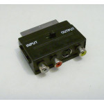 Scart adapter, RCA / s-video